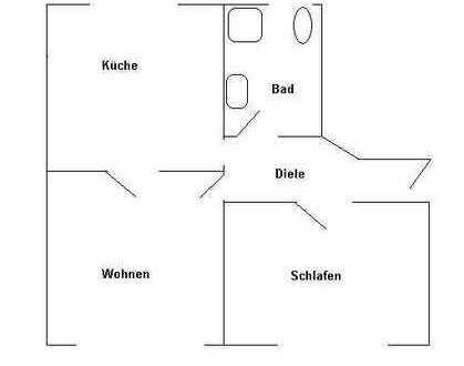 2,5 Zimmer Erdgeschosswohnung in Herne Mitte