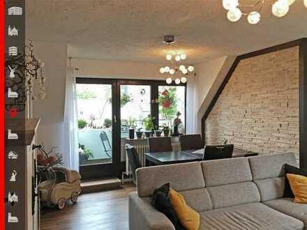 Gut geschnittene und gepflegte 3-Zimmer-Maisonette-Wohnung inkl. Tiefgaragenstellplatz