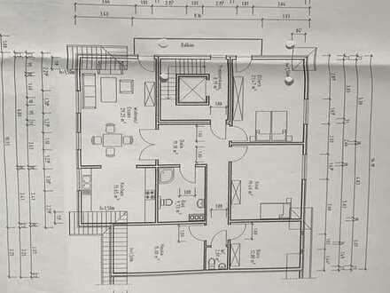 140 qm behindertengerechte OG-Wohnung in 2-FH zu vermieten - Nähe Ortskern Epe