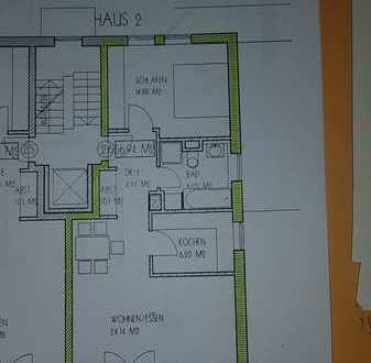 2-Raum-Wohnung mit seperater Küche und Südbalkon in Treuchtlingen