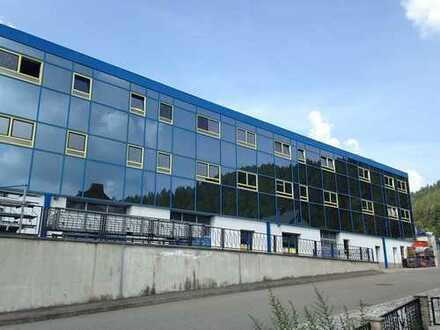 Gewerbehalle mit Wohnungen in Rotterode