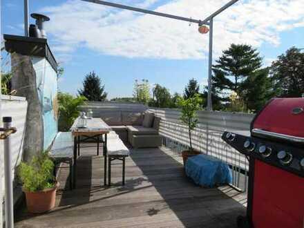 3-Zimmer-DG-Maisonette-Wohnung mit großer Dachterrasse in Köln-Bayenthal