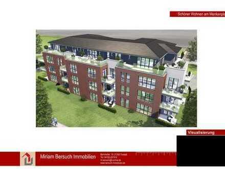 Neubau-Erstbezug hochwertige 3-Zimmerwohnung mit Dachterrasse in Toplage