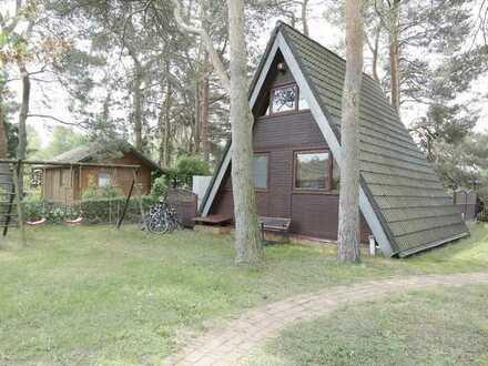 Finnhütte auf 380 m² Grundstück im Kleingartenverein zu verkaufen