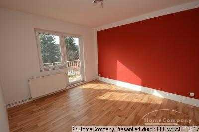 3. Zi Wohnung mit Balkon und Gartenanteil