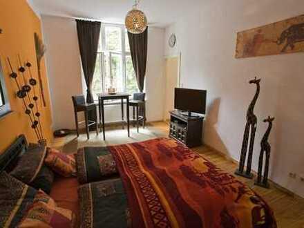 Möbliertes Wohnen im Simon-dach-Kiez: 1-Zi-Whg, HH, EG, Garten, 29m², ab sofort