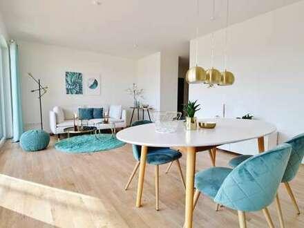 Moderne und stillvolle 3 Zimmer Erdgeschosswohnung im MagnolienGarten.