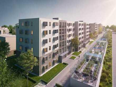 Beste Qualität mit Liebe zum Detail! Urbane 2-Zimmer-Wohnung mit Terrasse in Top-Lage