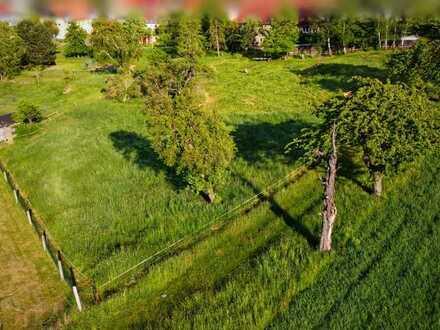 Wohnen mit viel Platz in ländlicher Lage. Baugrundstück in Naundorf bei Niederlommatzsch