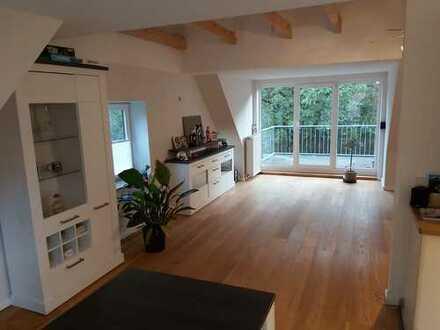 3-Zimmer-Whg mit EBK, Südbalkon, Terrasse, Garten zu vermieten