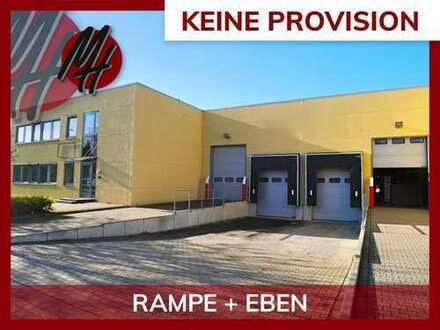 PROVISIONSFREI! Lagerflächen (2.000 qm) & Büroflächen (200 qm) zu vermieten