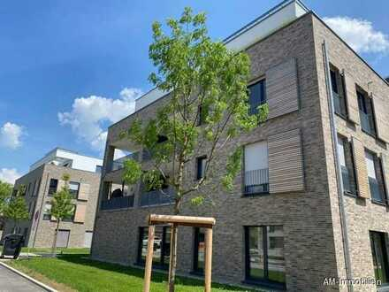 Neuwertige 3-Zimmer-Neubauwohnung am Schloßsee mit großem Balkon!