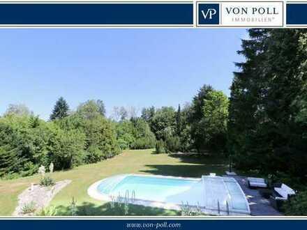 Villa im Parkgrundstück, beste Lage in Erlangen