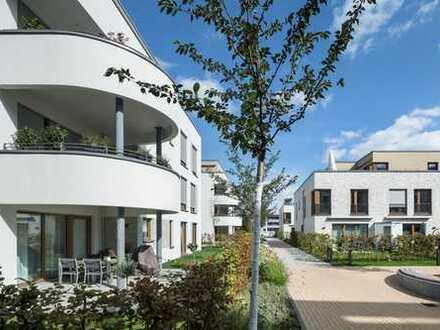 """""""BelleRü"""" Charmante 2-Raum-Neubau-Wohnung mit Terrasse und Garten"""