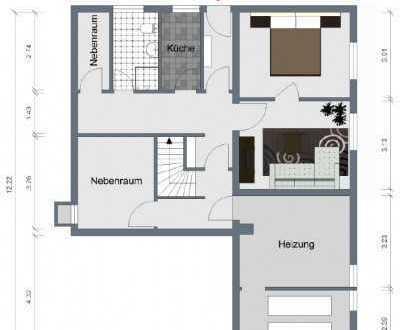 Schönes Haus mit fünf Zimmern in Freudenstadt (Musbach), Freudenstadt