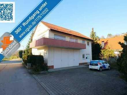 Freistehendes Einfamilienhaus mit gr. Doppelgarage/Werkstatt + Ausbaureserven im DG