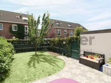 Grün gelegenes 5-Zi.-Reihenendhaus mit Garten und Terrasse in Werries