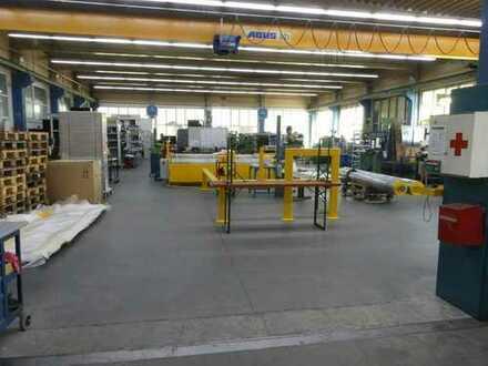 Gelegenheit aus Insolvenz - vielseitig nutzbare Produktionshalle mit modernem Verwaltungsgebäude