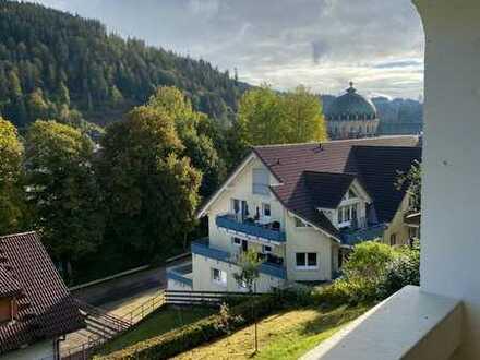 Freundliche 3-Zimmer-EG-Wohnung mit Balkon und EBK in Sankt Blasien