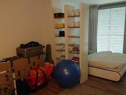 Geschmackvolle Wohnung mit einem Raum und Einbauküche in Pforzheim