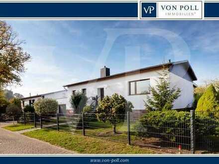 Vor den Toren Wismars: Gepflegtes Einfamilienhaus mit Einliegerwohnung und schönem Garten.