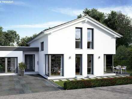 Natur Pur direkt am Rednitzgrund mit modernem Haus in Schwabach Limbach