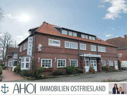 Hotel mit Restaurant und Saalbetrieb im Zentrum von Wiesmoor