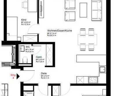 Helle Obergeschosswohnung