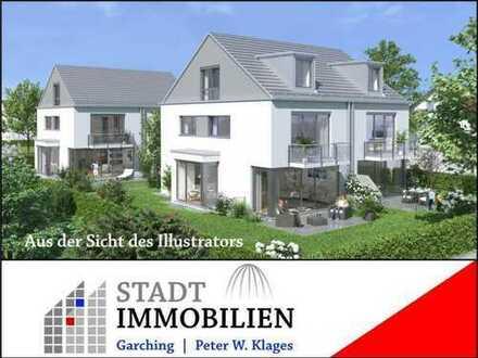 M-Feldmoching: Neubau von 4 Doppelhaushälften. (Haus 4) ruhige Lage, hohe Bauqualität