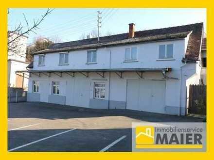 Provisionsfrei! Wohn- / Geschäftshaus mit Werkstatt, 2 Garagen mit ca. 240 qm und großem Grundstück!