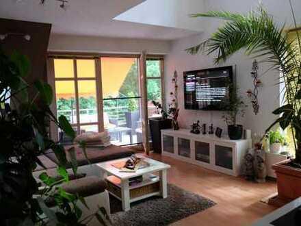 Attraktive Maisonette-Wohnung am Waldrand zum Seddiner See