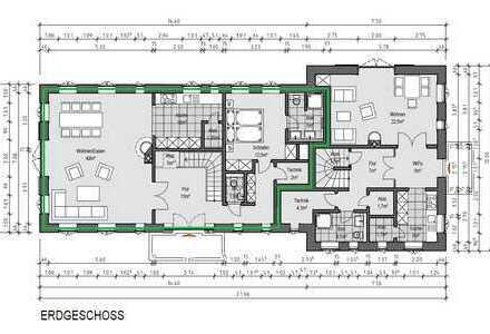 Neubau Doppelhaushälfte unter Reet in Utersum