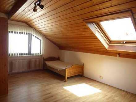 Leinmen-Gauangelloch, schönes, renoviertes und möbliertes ein 1Zi-App. DG, EBK