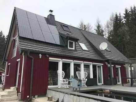 Einfamilienhaus mit Blick auf den Ochsenkopf