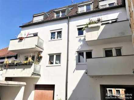 Attraktives Mehrfamilienhaus mit sieben Wohnungen in der Amberger Altstadt!