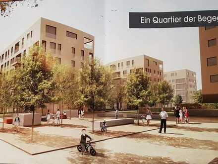 2-Zimmer-Wohnung, Erstbezug, gehobene Qualität mit EBK, sonnige Loggia und TG in Reutlingen