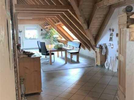 Wunderschöne geräumige Dachgeschosswohnung!