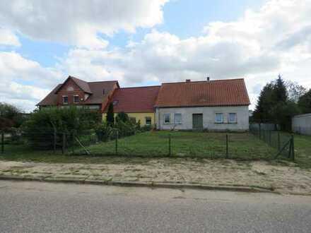 Dreiseitenhof in Ducherow ruhige Wohnlage teilweise saniert nahe Ostseeküste