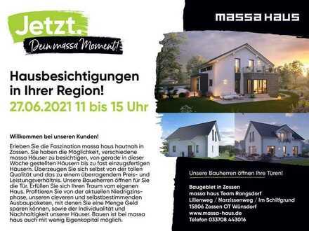 Hausbesichtigung in Ihrer Region!27.6.2021 in Wünsdorf!