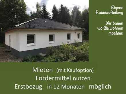 klein aber fein - BUNGALOW mit 85 m² Wohnfläche - 3 oder 4 Zimmer