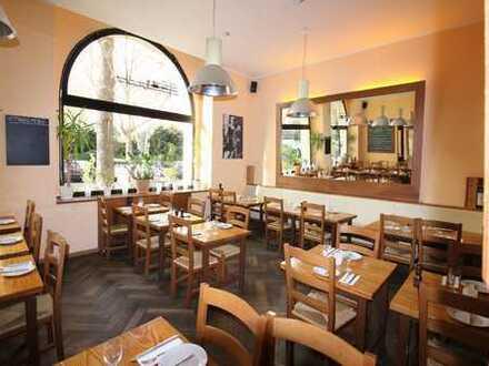 Traditionelles Restaurant in Düsseldorf-Golzheim, unweit der Innenstadt und dem Rheinufer