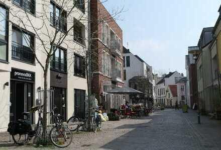 Fußgängerzone - attraktive Gewerbefläche im alten Handwerkerquartier Burgstraße