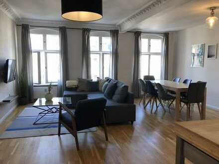 Beautifully designed and fully furnished 4 rooms' apartment in the best location in Moabit!