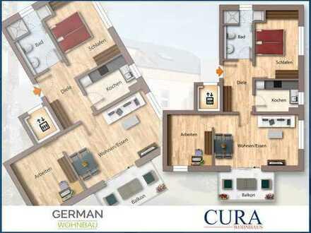 Willkommen in Gars! Neubau 3-Zimmerwohnung mit Balkon (KfW55)