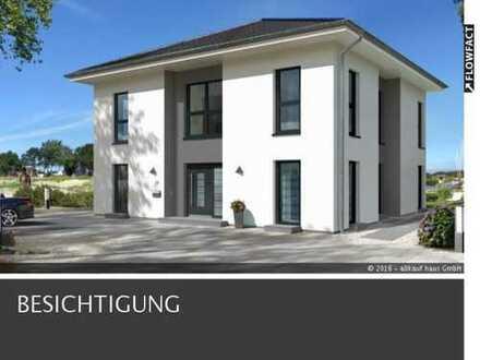 Exclusive City Villa mit Bodenplatte, Garage und Grundstückspreis KFW 55