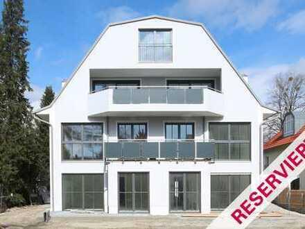 Moderne Neubau-Beletagewohnung im begehrten Blumenviertel von Großhadern