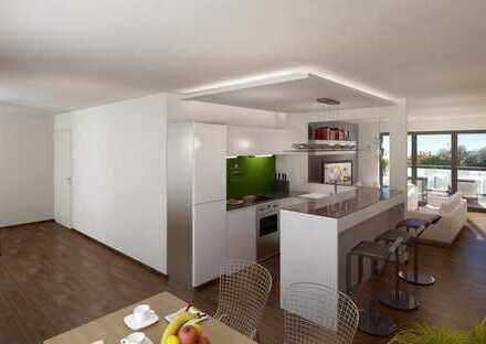 ETW 14 * Das Penthouse - 3-Zi-Neubauwohnung für exklusives Wohnambiente mit riesiger Terrassenfläche