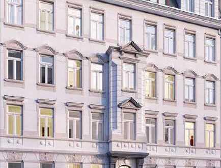 +ERSTBEZUG - Schleußig - 3-R-Whg. - Balkon mit Südwestausrichtung, Stuck, Parkett, TV-Spiegel etc.+