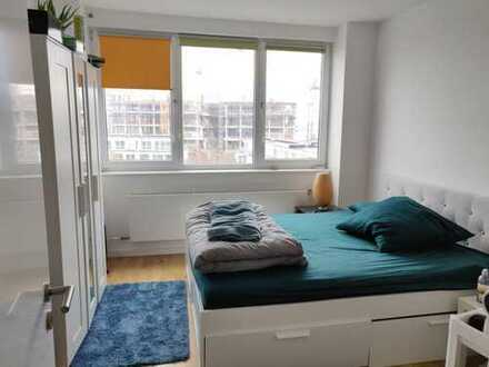 Bright, Spacious, Private room in 2 bedroom Furnished Apartment with view at friedrichshain