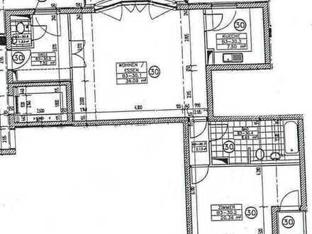 Moderne & Gehobene 2-Zimmer-Stadtwohnung